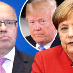 Germany blames Trump tariffs for DESTROYING economy - minister in furi...