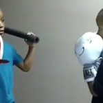 This child might already be the best boxing coach in the world