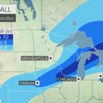 Snow, ice and slippery travel to precede next round of Arctic air in m...