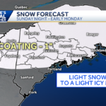 Winter weather advisory extended, slick travel Sunday night