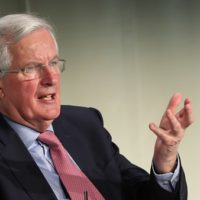 Barnier casts doubt on whether UK will leave EU on schedule