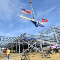Northeast State celebrates placement of last steel beam on Technical E...