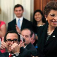 Trump Names Jovita Carranza, U.S. Treasurer, to Lead the Small Busines...