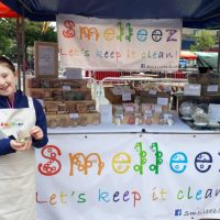 Amelia Milton sells her soaps at markets across Scotland.