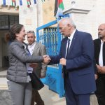 EU and Denmark inaugurate new public buildings in Area C