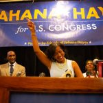 Hayes focuses on education and gun control -- not drama