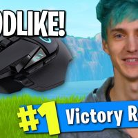 USING NINJA'S MOUSE TO WIN IN FORTNITE! (Best Gaming Mouse For Fortnite)