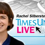 Rachel Silberstein on education at 1 p.m. Thursday