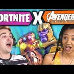 FORTNITE: INFINITY WAR (React: Gaming)