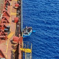 Three Migrants Rescued Near Malta After Jumping off Stranded Tanker   ...