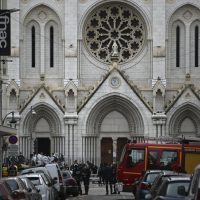 EU leaders condemn deadly French church attack