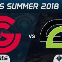 CG vs OPT Highlights NA LCS Summer 2018 W7D2 Clutch Gaming vs Optic Gaming by Onivia
