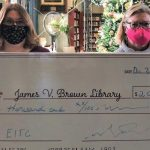 Riverview Bank donates EITC funds to James V. Brown educational progra...