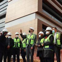 EU envoy visits site of bloc-funded hospital in Turkey's Kilis