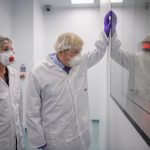 Boris Johnson 'put politics above public health' by visiting vaccine p...